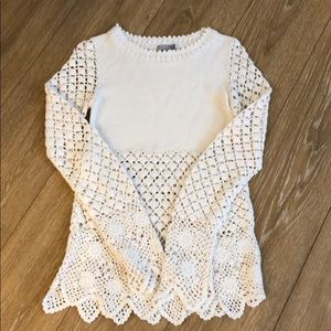 ASOS crochet sweater